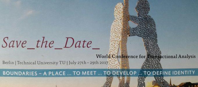save the date: die Weltkonferenz für Transaktionsanalyse zu Gast in Berlin!